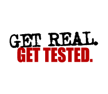 Get Real. Get Tested.